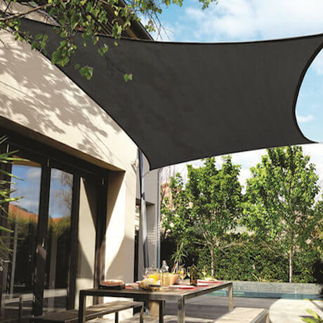 voile d'ombrage rectangulaire - shade sail-h1c
